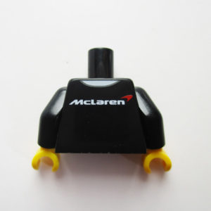 Black Polo Shirt w/ McLaren Logo
