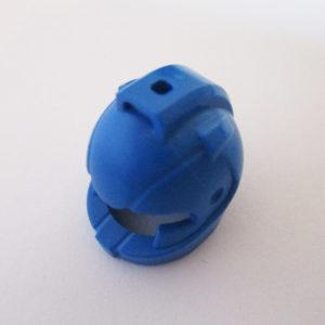 Standard Helm w/ Air Intakes - Blue