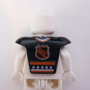 "Black Sports Gear w/ ""1"" & ""NHL"""