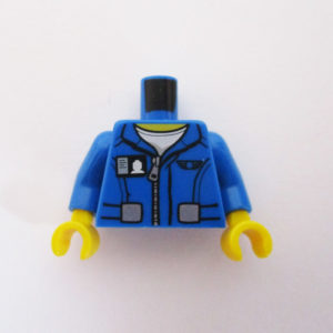 Blue w/ Zipper & Identity Card