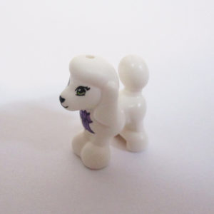 Poodle - White w/ Collar