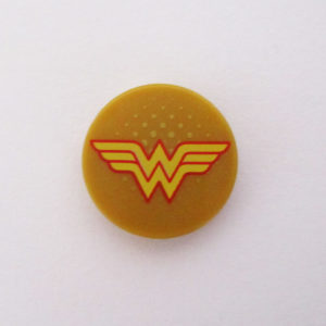 Gold Tile w/ Wonder Woman Icon