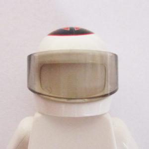 Standard Helm - White w/ Red & Black Ferrari K. Raikkonen Design