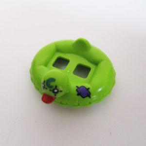 Duck Float Tube - Green w/ Purple Patch