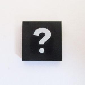 Black Tile w/ ?