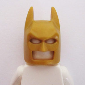 Batman Mask - Gold
