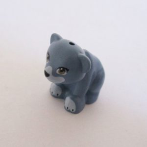 Bear - Sand Blue w/ White