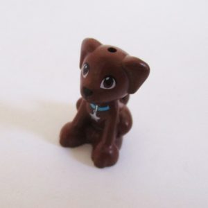 Dog - Dark Brown w/ Collar