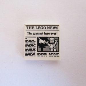 Newspaper 5 ( The Greatest Hero Ever )