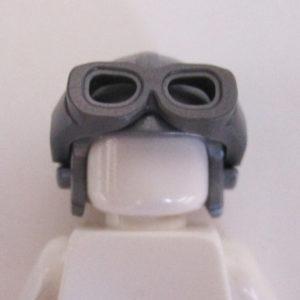 Aviator Cap w/ Goggles - Silver