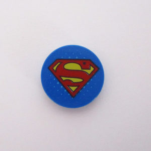 Blue Tile w/ Superman 'S'