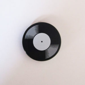 Vinyl Record - Black & White