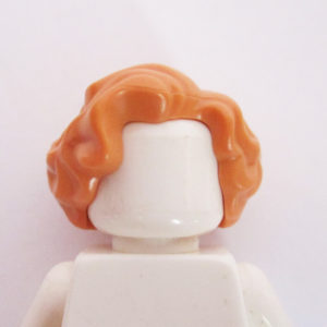 Mid-Length – Wavy w/ Side Parting - Peach