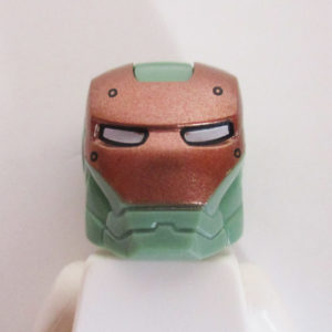 Ironman® Helm w/ Hinge - Sand Green & Gold