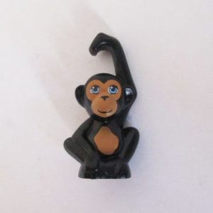 Monkey - Black w/ Tan