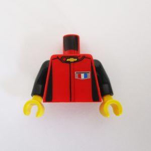 Red w/ Black Sleeves & Chevrolet Logo/ 'CAMARO'