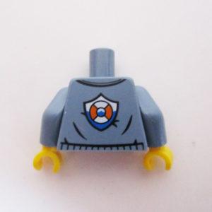 Sand Blue w/ Orange Shirt & Rescue Tyre Icon