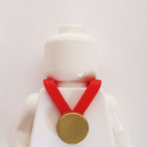 Medal - Gold w/ Red Neckband