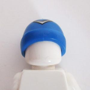 Ski Beanie - Blue w/ Boomerang Icon