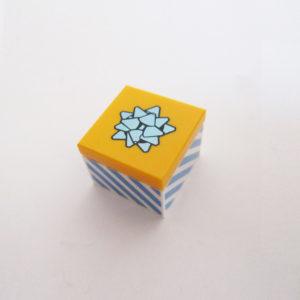 Gift - Blue & Light Orange