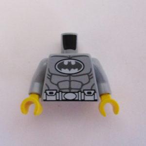 Light Grey w/ Muscles & Batman Logo