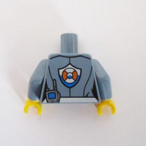 Sand Blue Top w/ Sea Rescue Icon