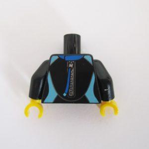 Black & Blue Wetsuit