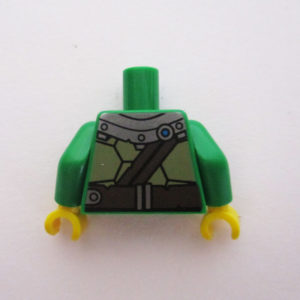 Green Turtle Shell w/ Gauge & Water Bottles