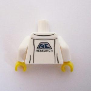 White Lab Coat w/ Shirt & Identity Badge