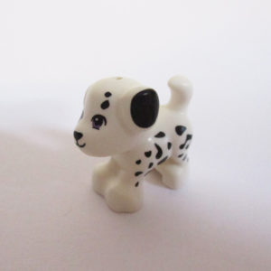 Puppy - White w/ Black Spots