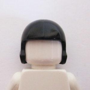 Open Face Helm - Black
