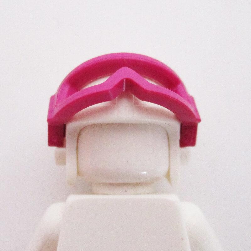 Aviator Cap w/ Goggles - White
