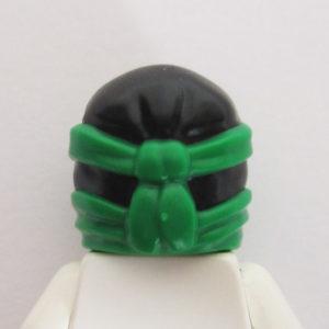 Ninja Style Head Wrap - Black & Green