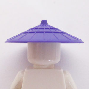 Asian Conical Hat - Purple