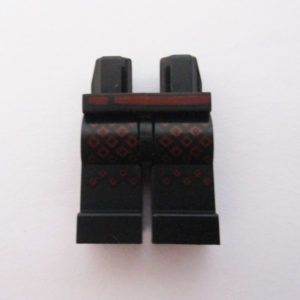 Black w/ Red Belt & Designs