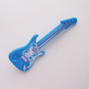 Electric Guitar - Azure Blue w/ White
