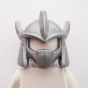 Trident Shaped Helm ( Shredder ) - Silver