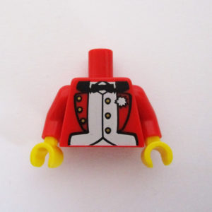 Red Jacket w/ White Shirt & Bow Tie