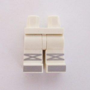 White w/ Silver Shoes & Straps