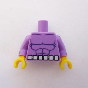Lavender Muscles w/ Squares Belt