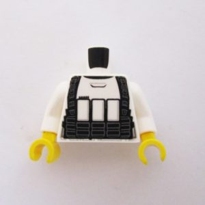 White Stormtrooper Jacket 4 w/ Detailed Armor