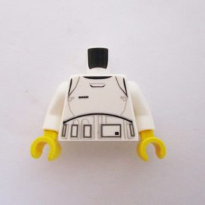 White Stormtrooper Jacket 3 w/ Detailed Armor