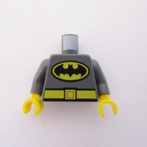 Dark Grey w/ Yellow Belt & Batman Logo