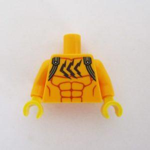 Bright Light Orange Muscles w/ Shoulder Straps