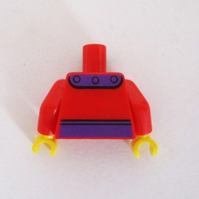 Red w/ Purple Magnets & Waist Strap