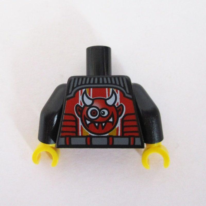 Black & Red w/ Devil Face Graphic on Back