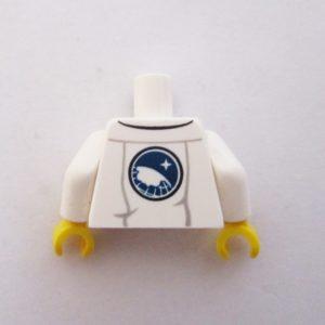 White Lab Coat w/ Pockets,ID Badge & Sweater