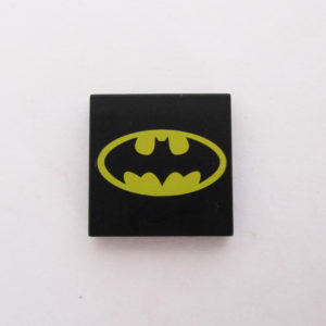 Black Tile w/ Batman Logo