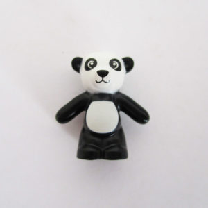 Teddy Bear - Black & White Polar Bear
