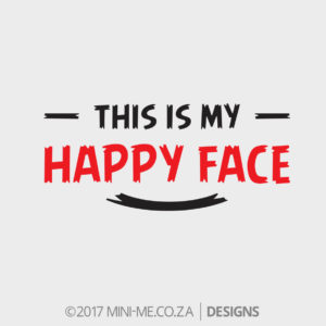 RED - This Is My Happy Face